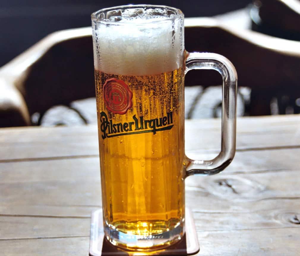 Pilsner Beer Prague Beer