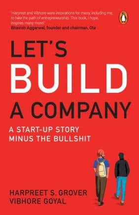 Let's build a company book cover 9780143449836