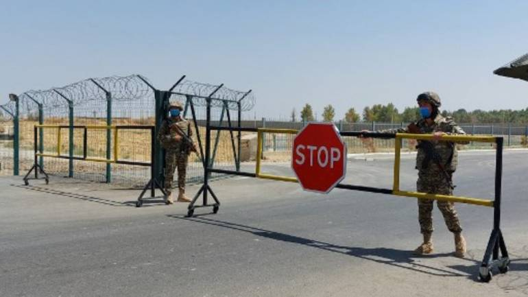 Uzbekistan says it 'forced landing' of 46 Afghan aircraft crossing border