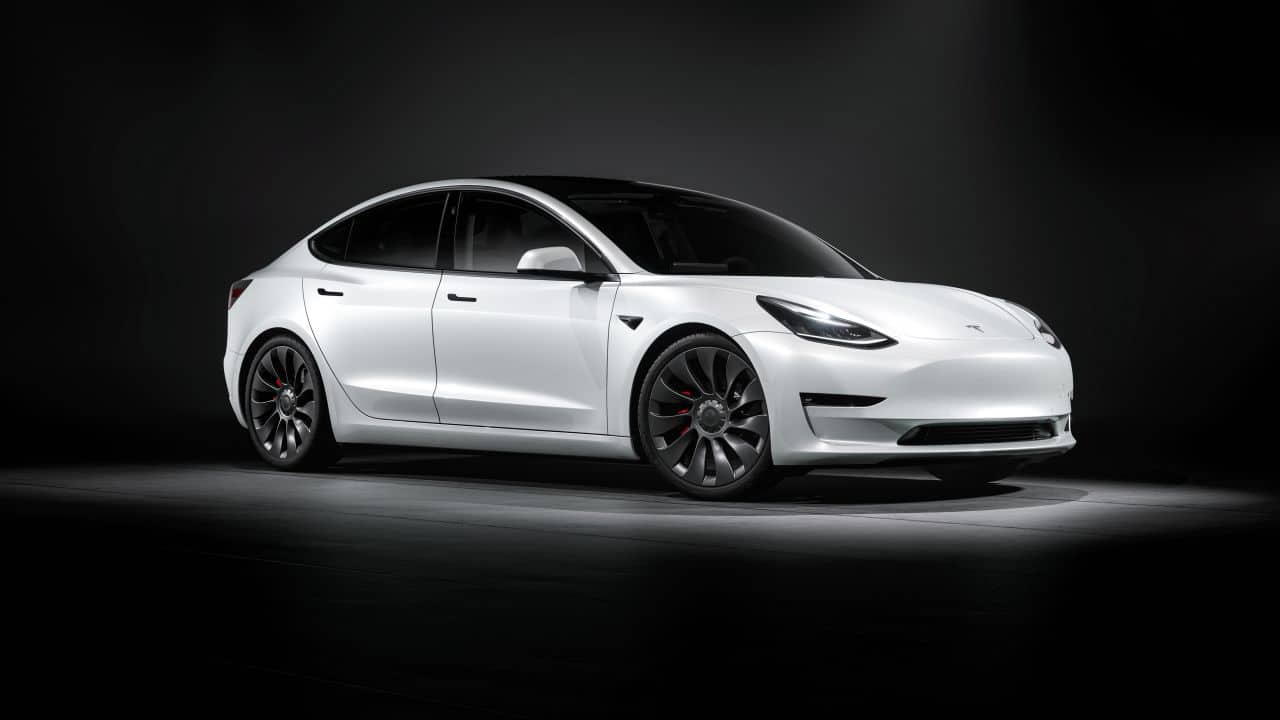 Tesla Model 3 has a 50-75 KWph battery and comes with a 15-inch portrait-style touchscreen. The Tesla Autopilot feature is optional.