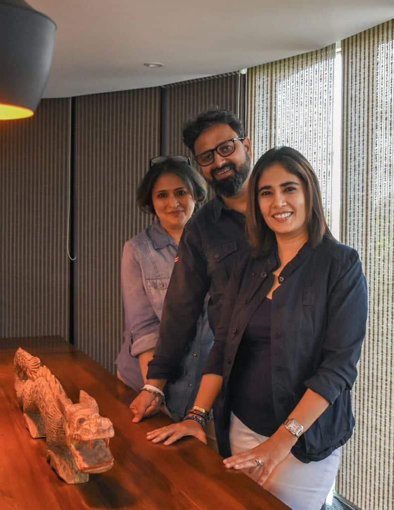 Emmay Entertainment founders Nikkhil and Monisha Advani and