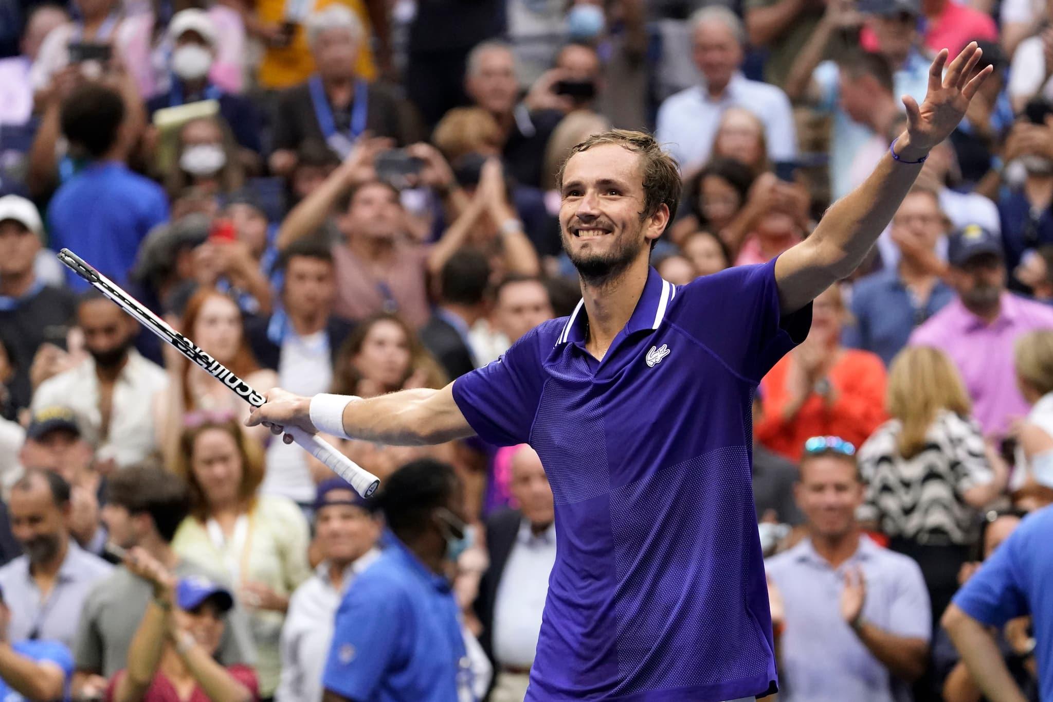 Djokovic vs Medvedev   US Open 2021 Final: Medvedev upsets Djokovic to lift US Open