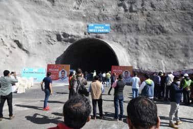 Zojila Tunnel 4