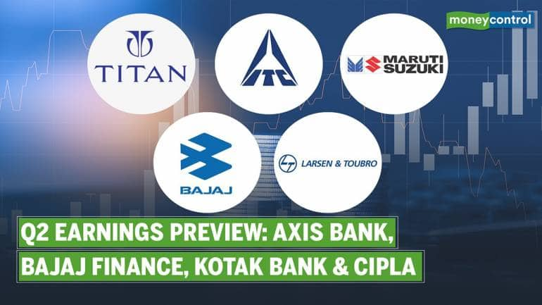 Q2 Earnings Preview: What to Expect from Titan, ITC, Maruti, Bajaj Auto & L&T
