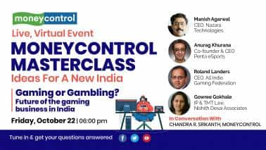 Moneycontrol Masterclass Ep17 | Gaming or gambling? Future of the gaming business in India